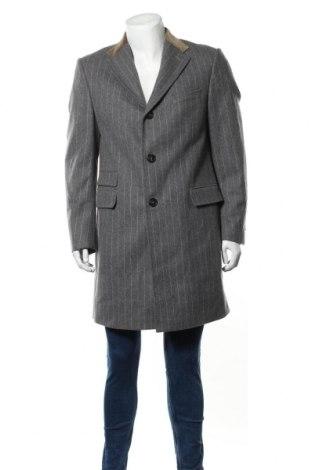 Palton de bărbați Windsor., Mărime L, Culoare Gri, Lână, Preț 248,68 Lei