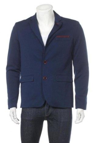 Pánské sako , Velikost M, Barva Modrá, Polyester, Cena  204,00Kč