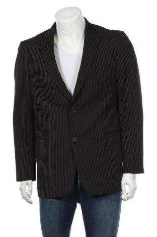 Мъжко сако Angelo Litrico, Размер L, Цвят Черен, 95% полиестер, 5% еластан, Цена 33,60лв.
