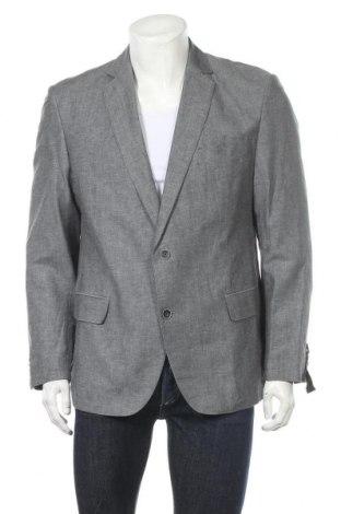 Ανδρικό σακάκι Charles Vogele, Μέγεθος L, Χρώμα Γκρί, 65% λινό, 35% βαμβάκι, Τιμή 16,62€