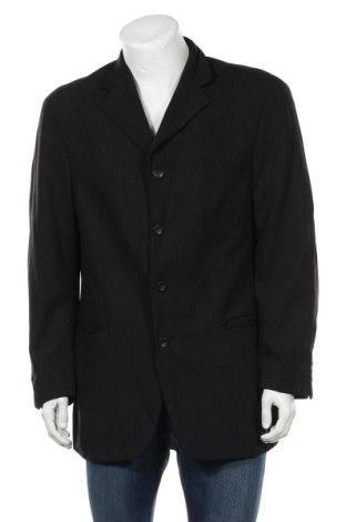 Мъжко сако Rene Lezard, Размер L, Цвят Черен, Вълна, Цена 43,50лв.