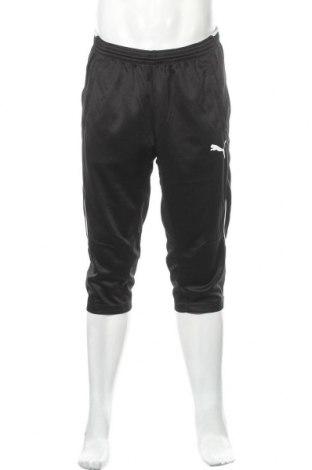 Мъжко спортно долнище PUMA, Размер L, Цвят Черен, Полиестер, Цена 29,40лв.