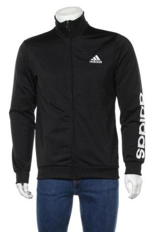 Мъжко спортно горнище Adidas, Размер L, Цвят Черен, Полиестер, Цена 69,00лв.