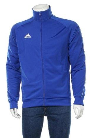 Мъжко спортно горнище Adidas, Размер M, Цвят Син, Полиестер, Цена 69,00лв.