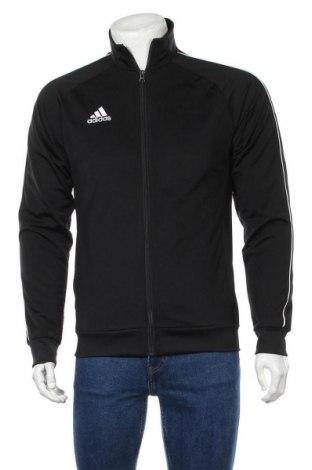 Мъжко спортно горнище Adidas, Размер S, Цвят Черен, Полиестер, Цена 69,00лв.