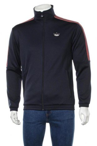 Мъжко спортно горнище Adidas Originals, Размер S, Цвят Син, 70% полиестер, 30% памук, Цена 74,25лв.