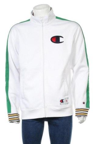 Мъжко спортно горнище Champion, Размер XL, Цвят Бял, Полиестер, Цена 41,60лв.
