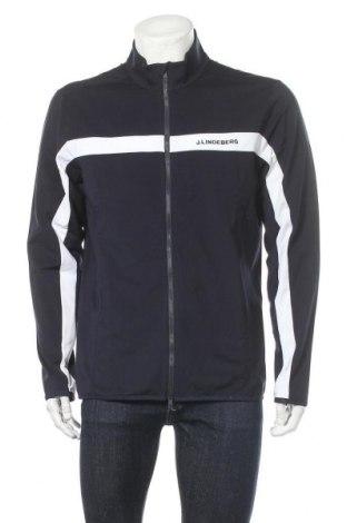 Ανδρική αθλητική ζακέτα J.Lindeberg, Μέγεθος XL, Χρώμα Μπλέ, 85% πολυεστέρας, 15% ελαστάνη, Τιμή 39,33€