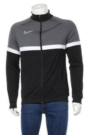 Мъжко спортно горнище Nike, Размер M, Цвят Сив, Полиестер, Цена 96,75лв.