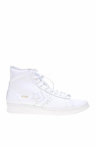 Обувки Converse, Размер 40, Цвят Бял, Естествена кожа, Цена 119,25лв.