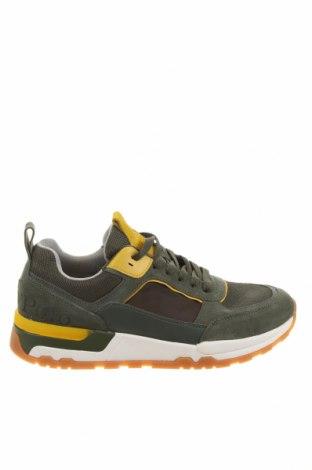 Παπούτσια Marc O'Polo, Μέγεθος 40, Χρώμα Πράσινο, Γνήσιο δέρμα, φυσικό σουέτ, κλωστοϋφαντουργικά προϊόντα, Τιμή 73,07€