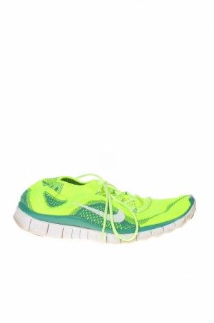 Обувки Nike, Размер 41, Цвят Зелен, Текстил, Цена 51,45лв.