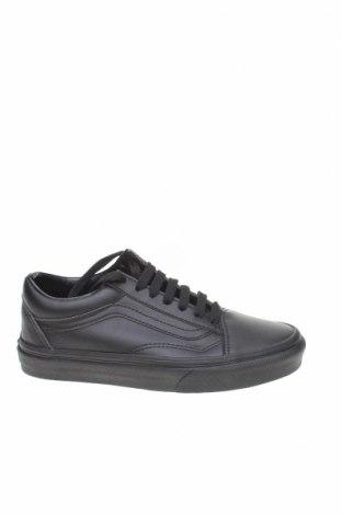 Обувки Vans, Размер 35, Цвят Черен, Еко кожа, Цена 81,75лв.