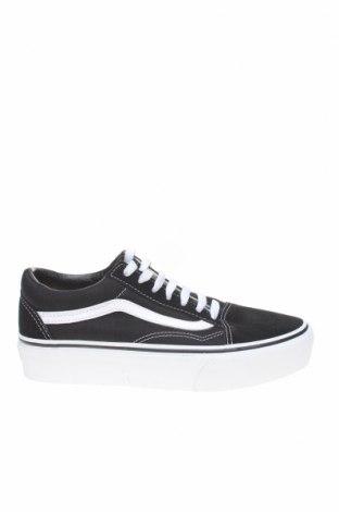 Παπούτσια Vans, Μέγεθος 37, Χρώμα Λευκό, Φυσικό σουέτ, κλωστοϋφαντουργικά προϊόντα, Τιμή 46,01€