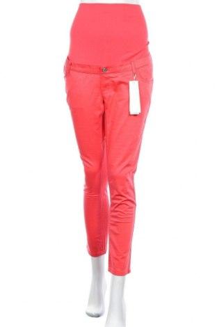 Kalhoty pro těhotné  Esprit, Velikost M, Barva Červená, 97% bavlna, 3% elastan, Cena  398,00Kč