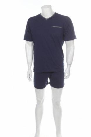Πιτζάμες, Μέγεθος S, Χρώμα Μπλέ, Βαμβάκι, Τιμή 12,06€