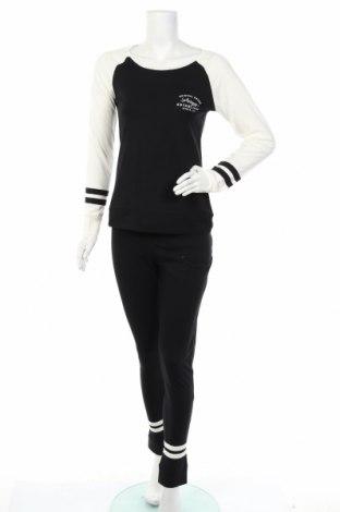 Пижама Arizona, Размер XS, Цвят Черен, Памук, Цена 41,30лв.