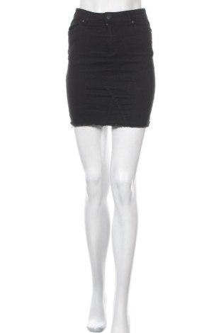 Φούστα, Μέγεθος S, Χρώμα Μαύρο, 78% βαμβάκι, 20% πολυεστέρας, 2% ελαστάνη, Τιμή 11,69€