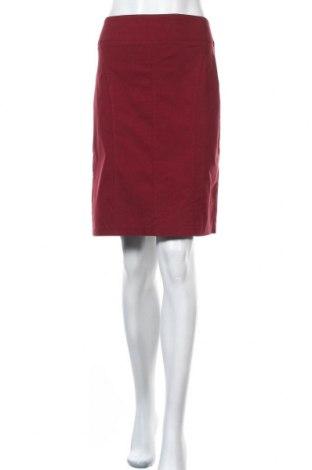 Φούστα Charles Vogele, Μέγεθος M, Χρώμα Κόκκινο, 70% βισκόζη, 27% πολυαμίδη, 3% ελαστάνη, Τιμή 7,80€