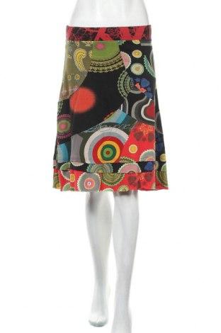 Φούστα Desigual, Μέγεθος S, Χρώμα Πολύχρωμο, Βαμβάκι, Τιμή 27,28€