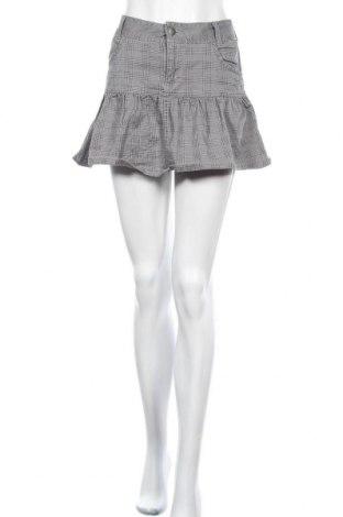 Φούστα H&M Divided, Μέγεθος M, Χρώμα Γκρί, 98% βαμβάκι, 2% ελαστάνη, Τιμή 13,64€