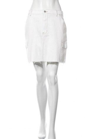 Φούστα Hollister, Μέγεθος M, Χρώμα Εκρού, 99% βαμβάκι, 1% ελαστάνη, Τιμή 16,12€