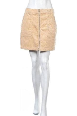Φούστα Hollister, Μέγεθος M, Χρώμα  Μπέζ, Βαμβάκι, Τιμή 13,39€