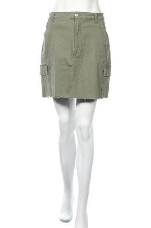 Φούστα Hollister, Μέγεθος L, Χρώμα Πράσινο, 98% βαμβάκι, 2% ελαστάνη, Τιμή 16,73€