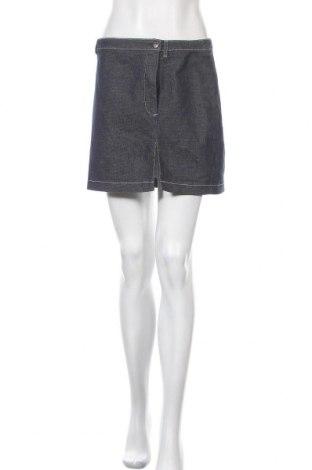 Φούστα ONLY, Μέγεθος M, Χρώμα Μπλέ, 59% βαμβάκι, 39% πολυουρεθάνης, 2% ελαστάνη, Τιμή 11,69€