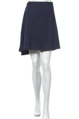 Пола Women by Tchibo, Размер XXL, Цвят Син, 51% памук, 44% полиестер, 5% еластан, Цена 4,20лв.