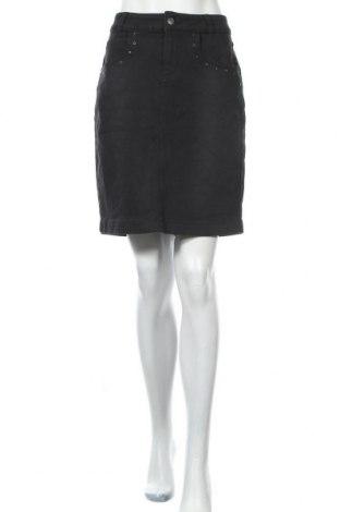 Пола Women by Tchibo, Размер L, Цвят Черен, 80% памук, 19% полиестер, 1% еластан, Цена 20,79лв.