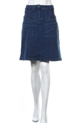 Пола Women by Tchibo, Размер XL, Цвят Син, 84% памук, 15% полиестер, 1% еластан, Цена 17,01лв.