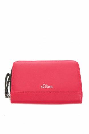 Πορτοφόλι S.Oliver, Χρώμα Ρόζ , Δερματίνη, Τιμή 17,01€