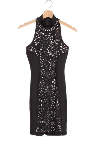 Φόρεμα Amisu, Μέγεθος XS, Χρώμα Μαύρο, Πολυεστέρας, ελαστάνη, Τιμή 17,54€