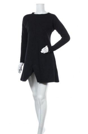 Рокля Bewear, Размер S, Цвят Черен, 90% памук, 10% еластан, Цена 32,25лв.
