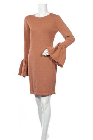 Рокля Bardot, Размер XL, Цвят Кафяв, 65% вискоза, 35% полиамид, Цена 36,40лв.