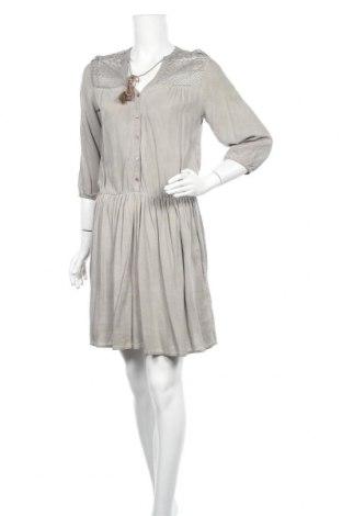 Φόρεμα Charles Vogele, Μέγεθος S, Χρώμα  Μπέζ, Βισκόζη, Τιμή 19,74€