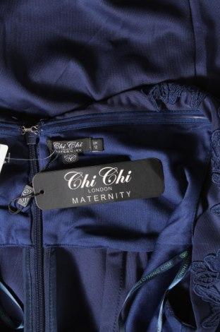 Рокля Chi Chi, Размер M, Цвят Син, Полиестер, Цена 36,49лв.