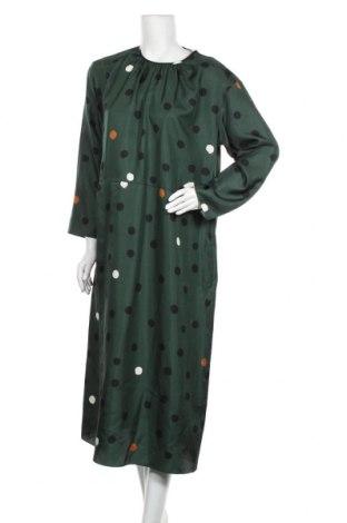 Φόρεμα Chinti and Parker, Μέγεθος M, Χρώμα Πράσινο, Μετάξι, Τιμή 120,99€