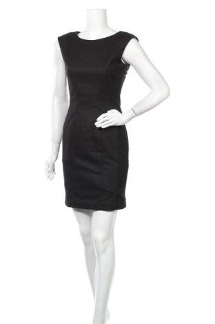 Φόρεμα H&M, Μέγεθος S, Χρώμα Μαύρο, 63% πολυεστέρας, 33% βισκόζη, 4% ελαστάνη, Τιμή 17,90€