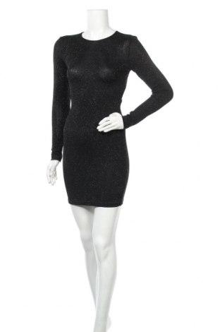 Φόρεμα H&M Divided, Μέγεθος M, Χρώμα Μαύρο, 93% πολυαμίδη, 4% ελαστάνη, 3% μεταλλικά νήματα, Τιμή 17,90€