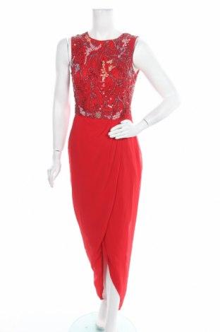 Φόρεμα Lace & Beads, Μέγεθος XS, Χρώμα Κόκκινο, Πολυεστέρας, Τιμή 23,52€