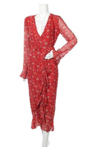 Φόρεμα Leon & Harper, Μέγεθος M, Χρώμα Κόκκινο, 97% βισκόζη, 3% ελαστάνη, Τιμή 49,24€
