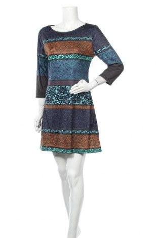 Рокля Miss Look, Размер M, Цвят Многоцветен, Памук, Цена 29,40лв.