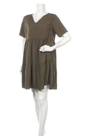 Φόρεμα Pieces, Μέγεθος L, Χρώμα Πράσινο, Πολυεστέρας, Τιμή 15,59€