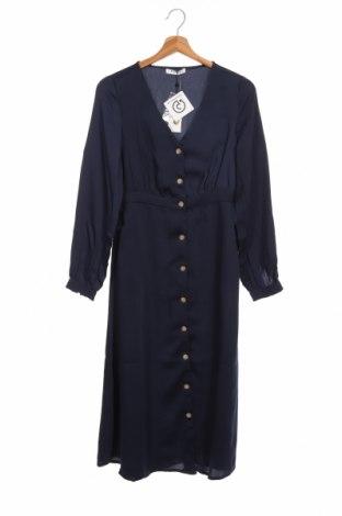 Φόρεμα Pieces, Μέγεθος XS, Χρώμα Μπλέ, Πολυεστέρας, Τιμή 21,44€