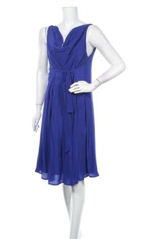 Šaty  Seraphine, Velikost L, Barva Modrá, Hedvábí, Cena  1728,00Kč