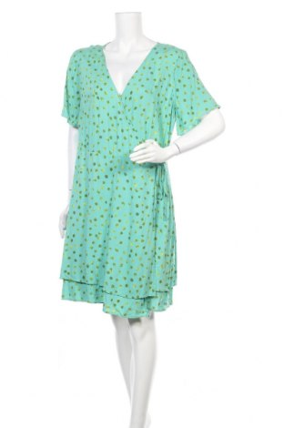 Рокля Sussan, Размер XL, Цвят Зелен, Вискоза, Цена 22,68лв.