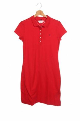 Φόρεμα Tommy Hilfiger, Μέγεθος XXS, Χρώμα Κόκκινο, 96% βαμβάκι, 4% ελαστάνη, Τιμή 61,47€