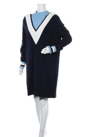 Φόρεμα Tommy Hilfiger, Μέγεθος M, Χρώμα Μπλέ, 58% βαμβάκι, 31% πολυαμίδη, 11% μαλλί, Τιμή 92,27€